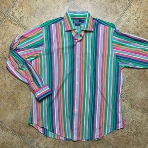 Vintage POLO Ralph Lauren Vertical Striped Shirt